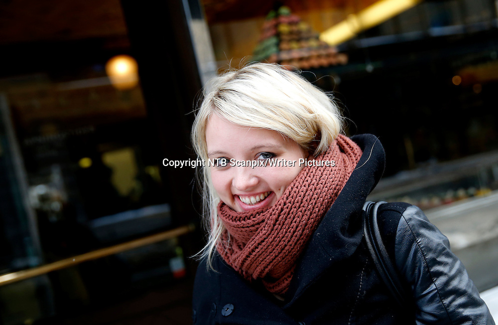 OSLO  20140120.<br /> Kathrine Nedrejord er bokaktuell med romanen Trengsel.<br /> Dette er hennes andre roman.<br /> Foto: Cornelius Poppe / NTB scanpix<br /> <br /> NTB Scanpix/Writer Pictures<br /> <br /> WORLD RIGHTS, DIRECT SALES ONLY, NO AGENCY
