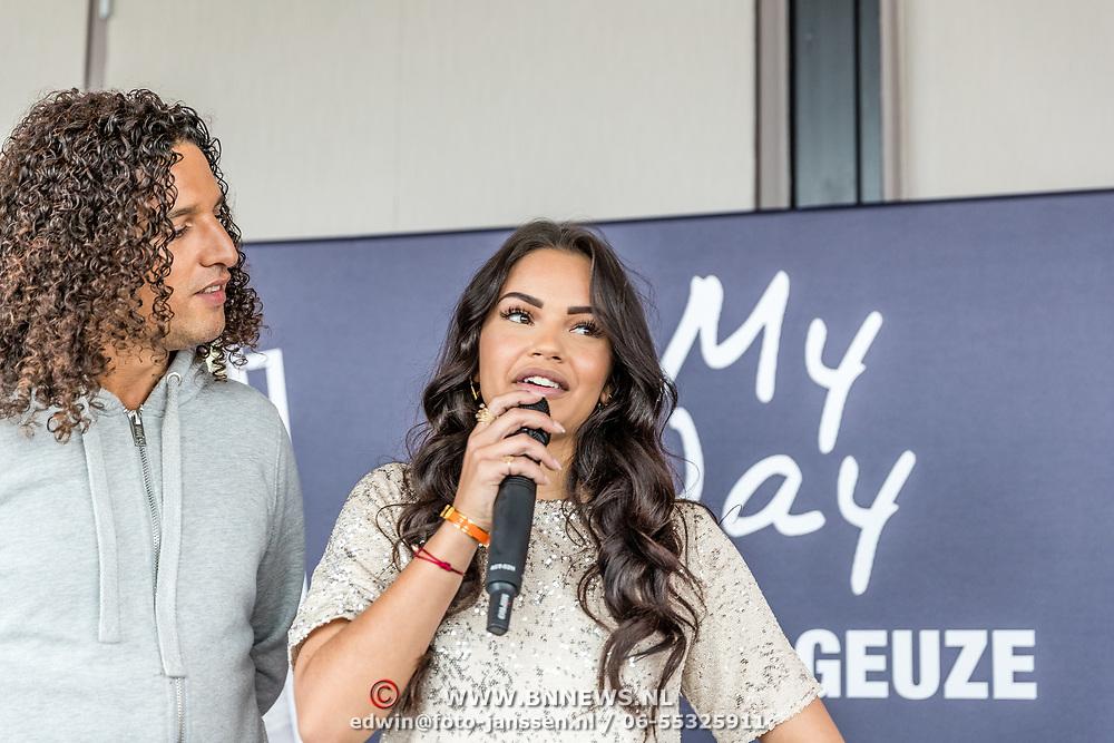 """NLD/Amsterdam//20170504 - Boekpresentatie Monica Geuze - """"My Way"""", Ali B en Monica Geuze"""