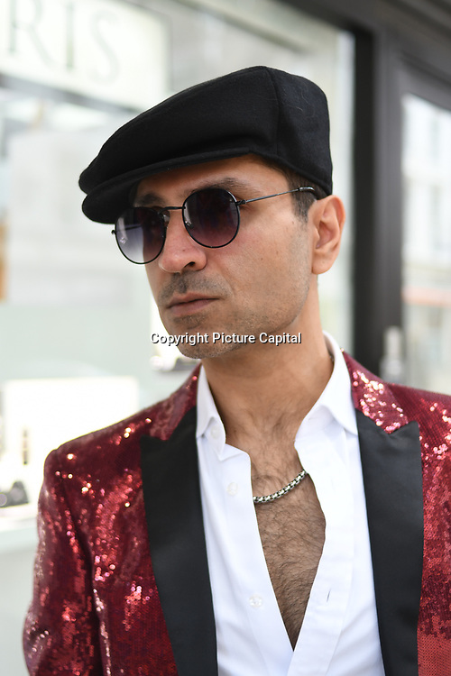 Naeem Mahmood is a director arrives at Tresor Paris In2ruders - launch at Tresor Paris, 7 Greville Street, Hatton Garden, London, UK 13th September 2018.