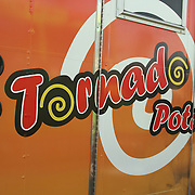 1st Annual Los Angeles Guitar Festival, July 2011.  Tornado Potato food truck.