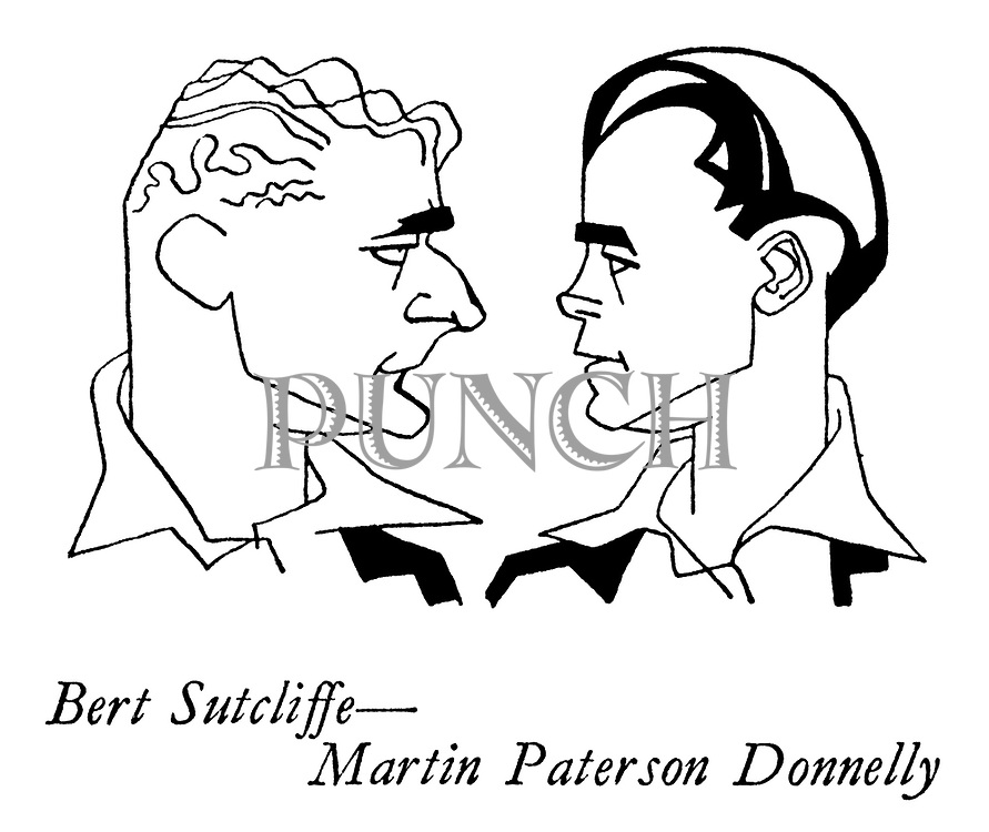 The New Zealanders ; the cricket team on tour<br /> Cricketers ; Bert Sutcliffe and Martin Paterson Donnelly