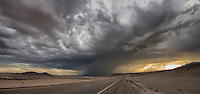 I was driving from Page, Arizona to LasVegas Nevada and I drove through this storm. I had a few moments to capture it all.