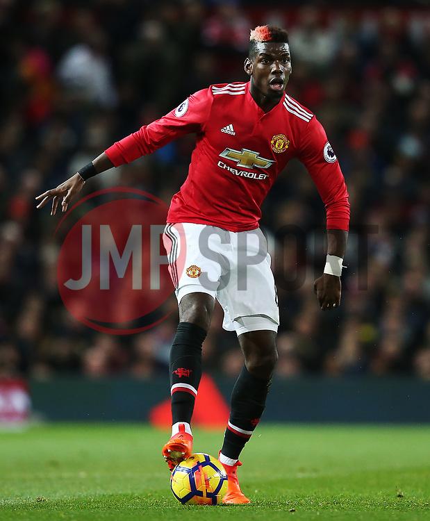 Paul Pogba of Manchester United - Mandatory by-line: Matt McNulty/JMP - 18/11/2017 - FOOTBALL - Old Trafford - Manchester, England - Manchester United v Newcastle United - Premier League
