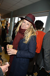 ASTRID HARBORD at the 2015 Hennessy Gold Cup held at Newbury Racecourse, Berkshire on 28th November 2015.