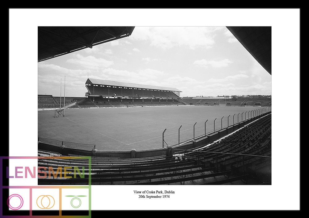 Do you know someone who's interested in gaelic sports? High quality black and white images of Croke Park in Dublin are a great gift idea for men who love irish football, hurling or rugby! For more information check out the website www.irishphotoarchive.ie