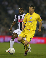 Photo: Rich Eaton.<br /> <br /> West Bromwich Albion v Sheffield Wednesday. Coca Cola Championship. 13/04/2007. West Broms Nathan Ellington left and Wednesdays Kenny Lunt right