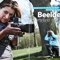 Tekst en beeld zijn auteursrechtelijk beschermd en het is dan ook verboden zonder toestemming van auteur, fotograaf en/of uitgever iets hiervan te publiceren <br /> <br /> Naar Buiten blad van de Staatsbosbeheer