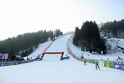 Course prior to the 10th Men's Slalom - Pokal Vitranc 2014 of FIS Alpine Ski World Cup 2013/2014, on March 8, 2014 in Vitranc, Kranjska Gora, Slovenia. Photo by Matic Klansek Velej / Sportida