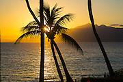Sunset, Napili Beach, Maui, Hawaii