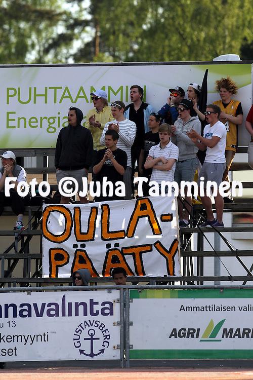25.5.2012, Pihkala, Hyvink??..Superpesis 2012, Hyvink??n Tahko - Pattijoen Urheilijat, Raahe..Tahko faniryhm?.