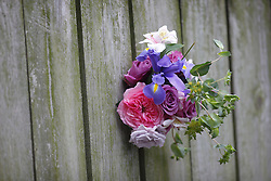 Bouquet of flowers photographed in still life, Wednesday, March 17, 2010 at Palmer Greenhill Treehouse in Louisville.