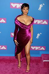 August 20, 2018 - New York City, New York, U.S. - Hip hop artist  CARDI B attends the arrivals for the 2018 MTV 'VMAS' held at Radio City Music Hall. (Credit Image: © Nancy Kaszerman via ZUMA Wire)