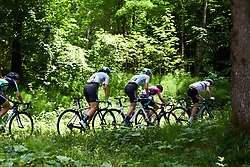 The climbing continues during Stage 8 of 2019 Giro Rosa Iccrea, a 133.3 km road race from Vittorio Veneto to Maniago, Italy on July 12, 2019. Photo by Sean Robinson/velofocus.com