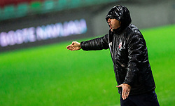 Slavisa Stojanovic, head coach of Latvia during the 2020 UEFA European Championships group G qualifying match between Slovenia and Latvia at SRC Stozice on November 19, 2019 in Ljubljana, Slovenia. Photo by Vid Ponikvar / Sportida