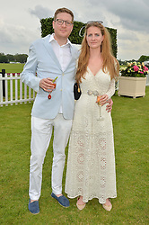 ED & CHLOE GRANT at the Cartier Queen's Cup Final 2016 held at Guards Polo Club, Smiths Lawn, Windsor Great Park, Egham, Surry on 11th June 2016.