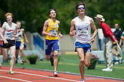 2011/05/28 - Nick Guarino of SUNY Fredonia wins the 1500-meter final at the 2011 NCAA Division-3 Championships in Delaware, Ohio. Guarino ran 3:53.43, and later won the 800-meter run, making him the first Division-3 runner to win both events since Nick Symmonds in 2006.