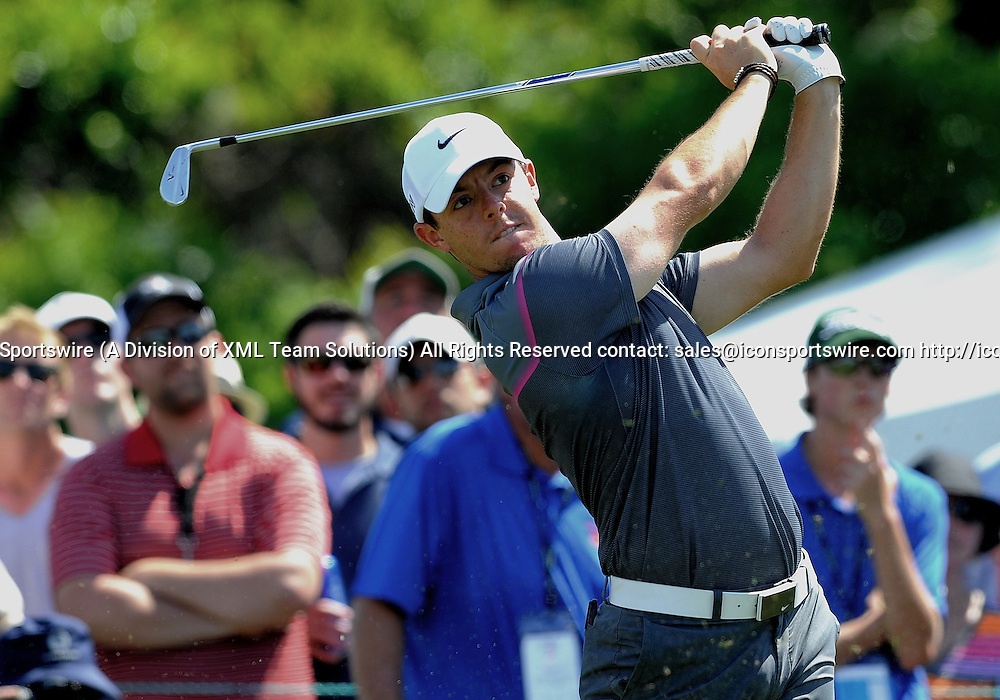 21 March 2015: Rory McIlroy on the 7th tee during the third round of the Arnold Palmer Invitational at Arnold Palmer's Bay Hill Club & Lodge in Orlando, Florida.