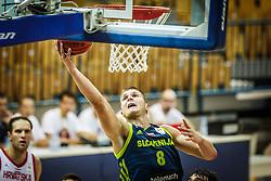 Edo Muric of Slovenia during friendly basketball match between Slovenia and Croatia , on September 8, 2018 in Arena Zlatorog, Celje, Slovenia. Photo by Ziga Zupan / Sportida