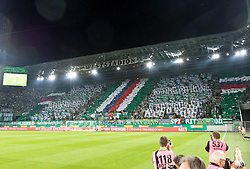 25.08.2016, Allianz Stadion, Wien, AUT, UEFA EL, SK Rapid Wien vs FK AS Trencin, Play off, Rueckspiel, im Bild Fans von Rapid// during the UEFA Europa League Play off 2nd Leg Match between SK Rapid Wien and FK AS Trencin at the Allianz Stadion, Vienna, Austria on 2016/08/25. EXPA Pictures © 2016, PhotoCredit: EXPA/ Sebastian Pucher