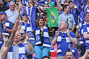 Chelsea supporter during the The FA Cup final match between Arsenal and Chelsea at Wembley Stadium, London, England on 27 May 2017. Photo by Shane Healey.