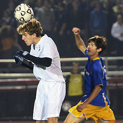 Photos by Tom Kelly IV<br /> West Chester Rustin vs Downingtown West boys District One semifinal soccer game which was held Wednesday night October 30, 2013 at West Chester East High School.