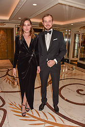 Lady Tatiana Mountbatten and the Earl of Medina at The Cartier Racing Awards 2018 held at The Dorchester, Park Lane, England. 13 November 2018. <br /> <br /> ***For fees please contact us prior to publication***