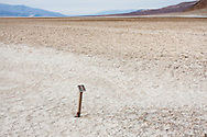 Badwater in Death Valley National Park.