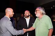 Producer / Editor Alexander Emanuele, Chef Evan Funké and guest