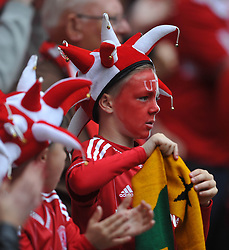 Middlesbrough Young Fans, Middlesbrough v Norwich, Sky Bet Championship, Play Off Final, Wembley Stadium, Monday  25th May 2015