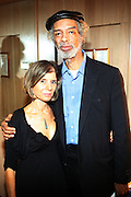 l to r: Jill Newman and Gil Scott-Heron at Gil Scott-Heron Produced by Jill Newman Productions held at The Blue Note Jazz Club on Augustt 16, 2009 in New York City...The Legendary Gil Scott-Heron played two sets at Blue Note to sold out crowd..***exclusive***