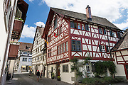 Haus Vetter is a half-timbered house on Bodenseeradweg in Stein am Rhein village, Schaffhausen Canton, Switzerland, Europe.
