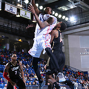 Delaware 87ers Guard Jordan McRae (4) drives towards the basket in the first half of a NBA D-league regular season basketball game between the Delaware 87ers and the Erie BayHawk (Orlando Magic) Friday, Mar. 27, 2015 at The Bob Carpenter Sports Convocation Center in Newark, DEL.