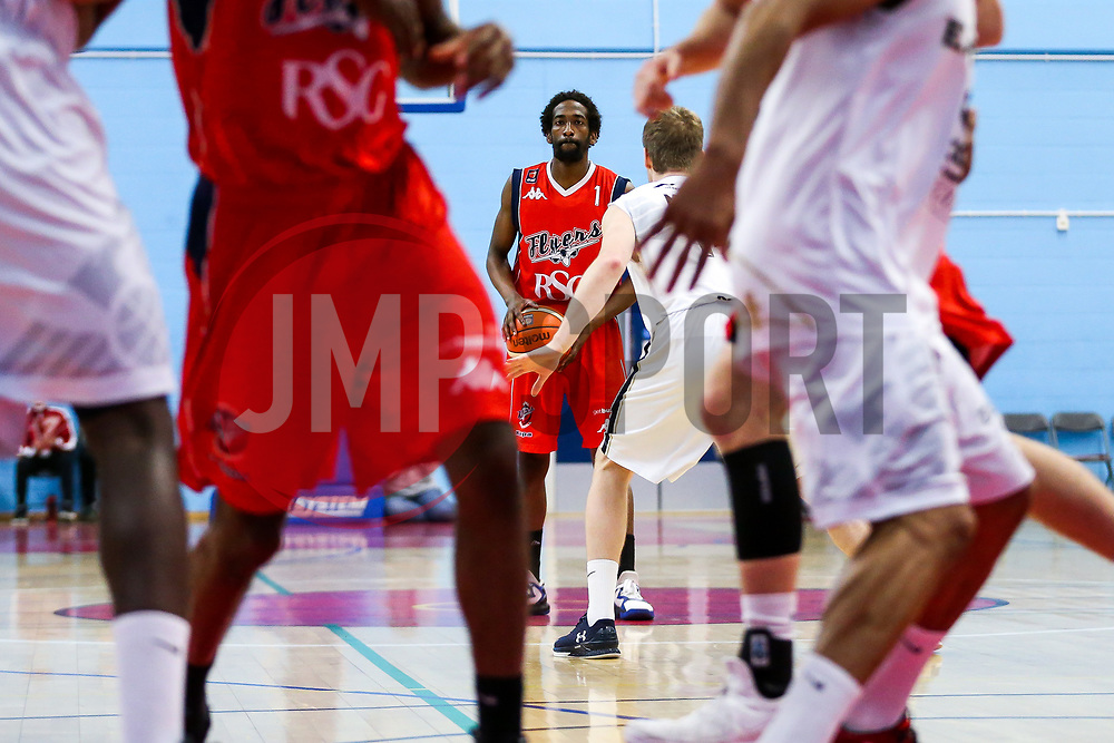 Hameed Ali of Bristol Flyers - Rogan Thomson/JMP - 28/04/2017 - BASKETBALL - SGS Wise Arena - Bristol, England - Bristol Flyers v Newcastle Eagles - BBL Championship Play-Off Quarter Final First Leg.