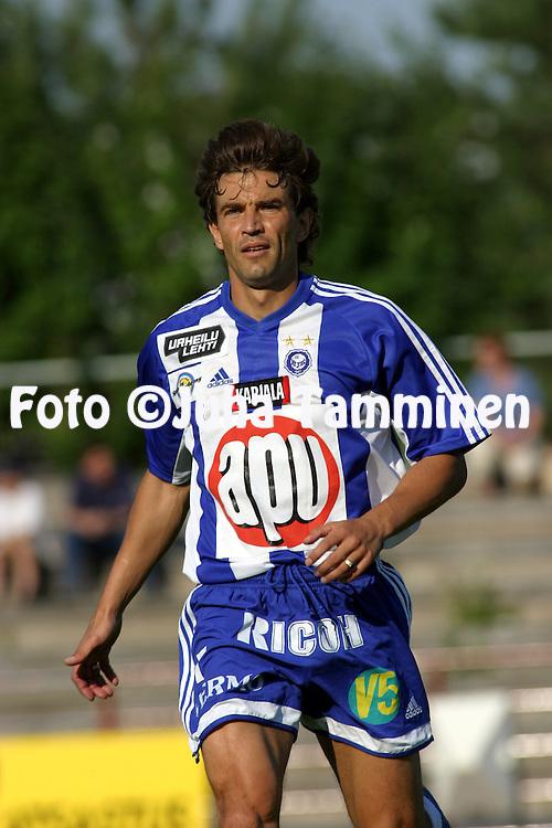 19.07.2003, Pori, Finland..Veikkausliiga 2003 / Finnish League 2003.FC Jazz v HJK Helsinki.Alexei Eremenko - HJK.©Juha Tamminen