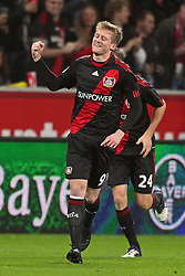 05.11.2011,  BayArena, Leverkusen, GER, 1.FBL, Bayer 04 Leverkusen vs Hamburger SV, im Bild.Torjubel / Jubel  nach dem 1:0 durch Andre Schürrle (Leverkusen #9)..// during the 1.FBL, Bayer Leverkusen vs Hamburger SV on 2011/11/05, BayArena, Leverkusen, Germany. EXPA Pictures © 2011, PhotoCredit: EXPA/ nph/  Mueller       ****** out of GER / CRO  / BEL ******
