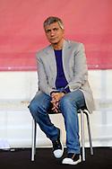 Roma 11 Maggio  2013.La Cosa Giusta,  Manifestazione di Sinistra Ecologia e Libertà. Nichi Vendola,  Presidente nazionale di Sinistra Ecologia Libertà[, è presidente della Regione Puglia