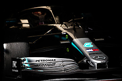 February 21, 2019 - Barcelona, Spain - mechanical detail wing, aileron, 44 HAMILTON Lewis (gbr), Mercedes AMG F1 GP W10 Hybrid EQ Power+, action during Formula 1 winter tests from February 18 to 21, 2019 at Barcelona, Spain - Photo  Motorsports: FIA Formula One World Championship 2019, Test in Barcelona, (Credit Image: © Hoch Zwei via ZUMA Wire)
