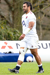 Billy Vunipola of England - Mandatory by-line: Robbie Stephenson/JMP - 08/03/2019 - RUGBY - England - Training session ahead of Guinness Six Nations match against Italy