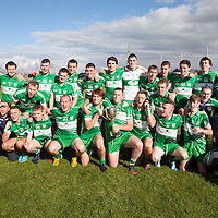 The victorious Wolfe Tones Team after their Intermeidate Football Final Reply WIn