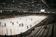 RIT's Gene Polisseni Center hosts a game between the RIT Women's Hockey team and Union College on October 3, 2014.