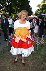 GRAYSON PERRY at the Serpentine Gallery Summer party sponsored by Yves Saint Laurent held at the Serpentine Gallery, Kensington Gardens, London W2 on 11th July 2006.<br />