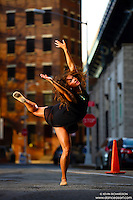 Dance As Art Photography Project- Dumbo Brooklyn, New York with dancer, Caitlyn Casson.