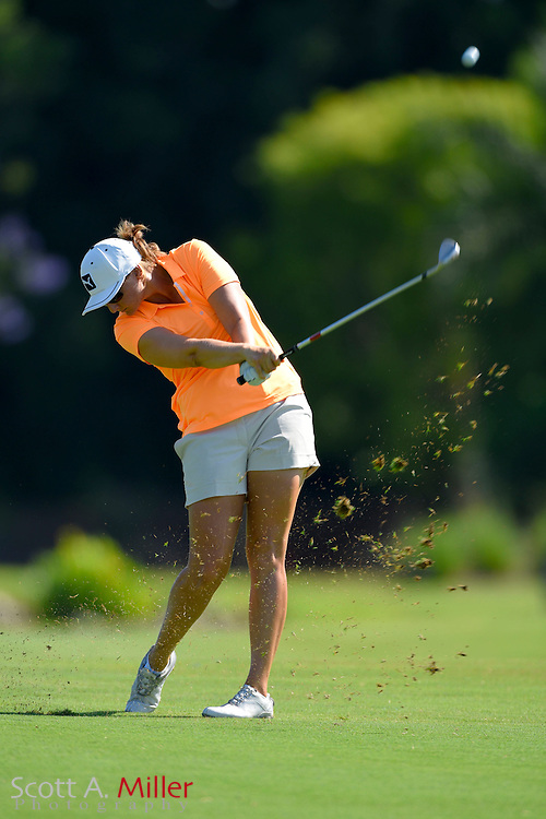 Jessica Alexander during the final round of the Chico's Patty Berg Memorial on April 19, 2015 in Fort Myers, Florida. The tournament feature golfers from both the Symetra and Legends Tours.<br /> <br /> &copy;2015 Scott A. Miller