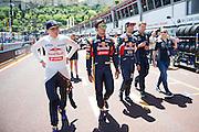 May 20-24, 2015: Monaco - Carlos Sainz Jr. Scuderia Toro Rosso, Max Verstappen, Scuderia Toro Rosso, Daniel Ricciardo (AUS), Red Bull-Renault
