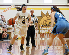 03/07/15 HS Girls Basketball Lincoln vs. Frankfort