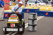 "WASHINGTON, DC - September 11: Congressman Mark Sanford  participates in K-Mart's ""Race Against Drugs"" in Washington, DC. September 11, 1997  (Photo RIchard Ellis)"