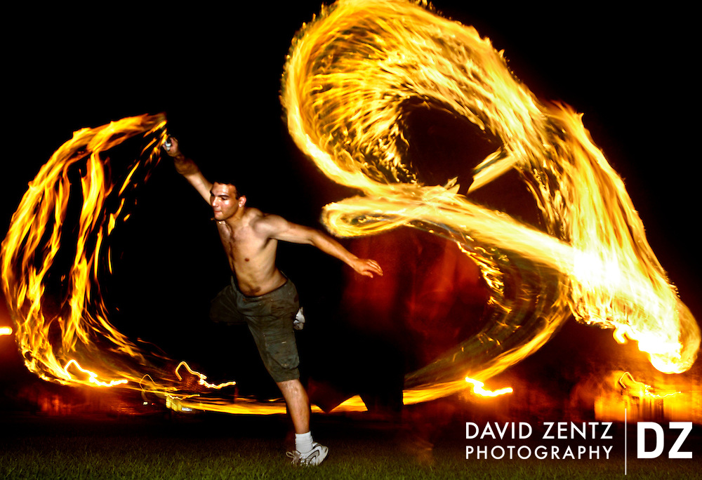PURCHASE THESE PHOTOS AT PJSTAR.COM DAVID ZENTZ/JOURNAL STAR.Fire poi group practices at Olin Quad on Bradley campus.