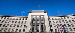 THEMENBILD - Landhausplatz Innsbruck, im Bild das neue Tiroler Landhaus, Bild aufgenommen am 24.02.2014. EXPA Pictures © 2014, PhotoCredit: EXPA/ JFK