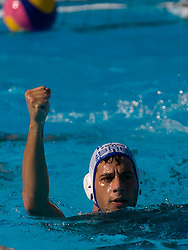 Vanja Udovicic of Serbia during waterpolo Semifinal Round match between National teams of Croatia and Serbia during the 13th FINA World Championships Roma 2009, on July 30, 2009, at the Stadio del Nuoto,  Foro Italico, Rome, Italy. Serbia won 12:11. (Photo by Vid Ponikvar / Sportida)