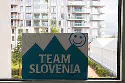 Team Slovenia in Paralympic village during Day 2 of the Summer Paralympic Games London 2012 on August 29, 2012, in Pralympic village, London, Great Britain. (Photo by Vid Ponikvar / Sportida.com)